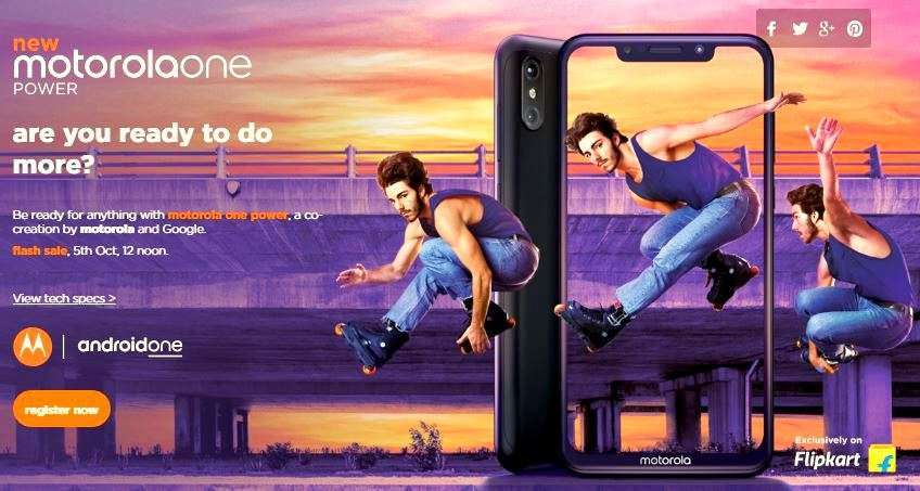 Motorola unveils Motorola One Power in India: Specifications, Features and Comparison