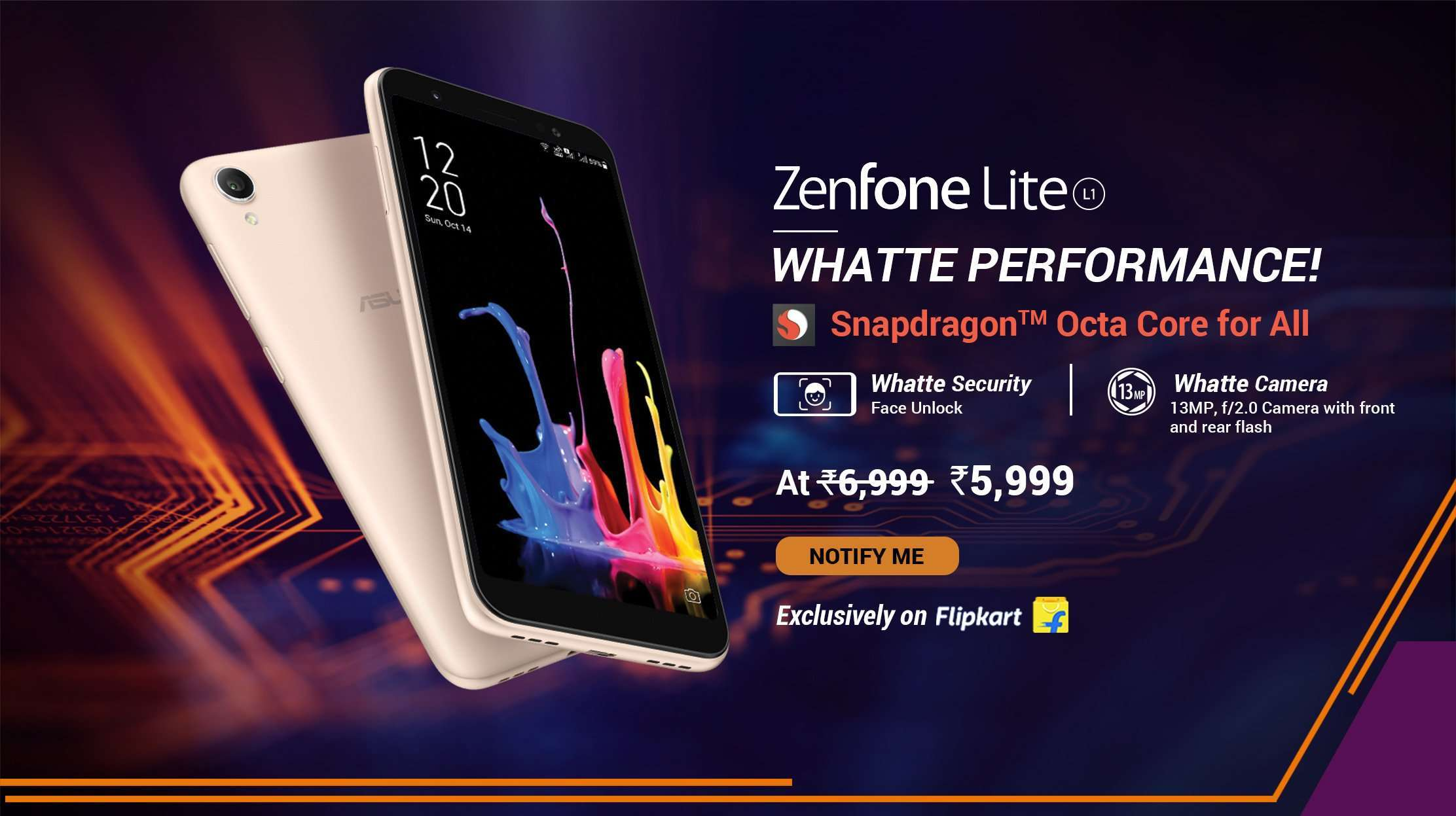 Asus Zenfone Lite L1 launched in India: Specification, Comparison